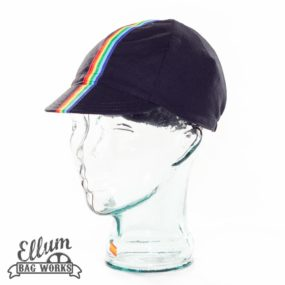 Rainbow Roadie cycling cap