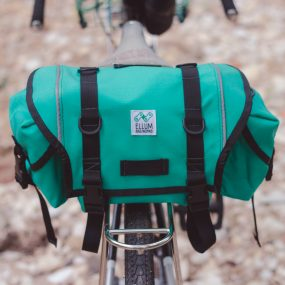 Ursa Minor handmade saddle bag