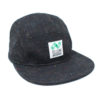 Black Polychrome Snapback Hat