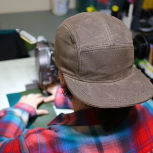 Waxed Canvas Snapback