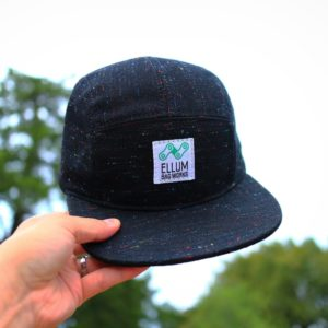 Black Polychrome Snapback