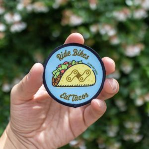 Ride Bikes Eat Tacos Patch